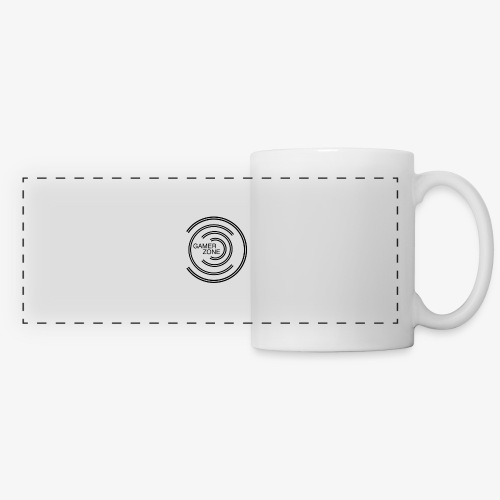 logo gamer zone - Mug panoramique contrasté et blanc