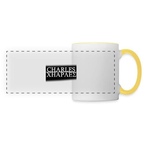 CHARLES CHARLES BLACK AND WHITE - Panoramic Mug