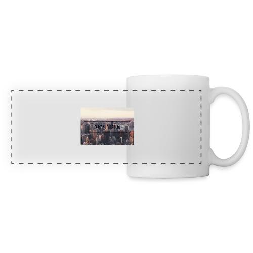 spreadshirt - Mug panoramique contrasté et blanc