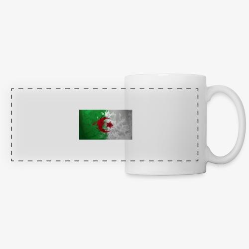 Drapeau Algérienne - Mug panoramique contrasté et blanc