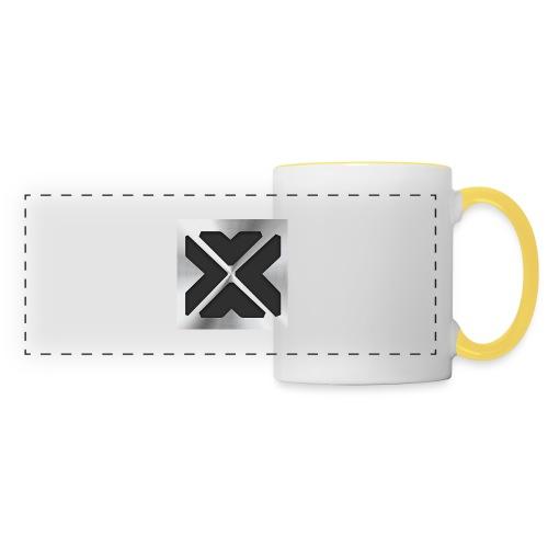 Logo Xtr3mZMiniboy - Mug panoramique contrasté et blanc