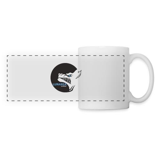 Lunaria_Logo tete pleine - Mug panoramique contrasté et blanc