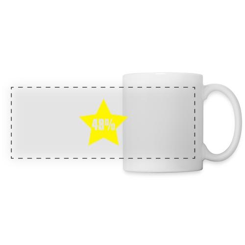 48% in Star - Panoramic Mug