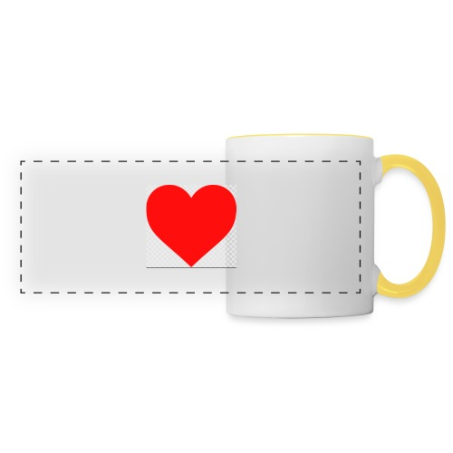 Hjärta - Panoramamugg