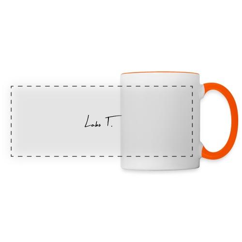 Labo T. - white - Mug panoramique contrasté et blanc