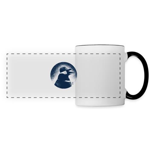 Pinguin dressed in black - Panoramic Mug