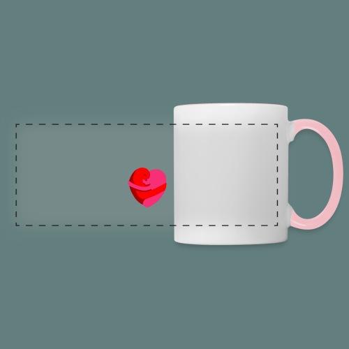 hearts hug - Tazza panoramica
