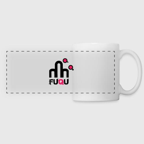 T-shirt FUQU logo colore nero - Tazza panoramica