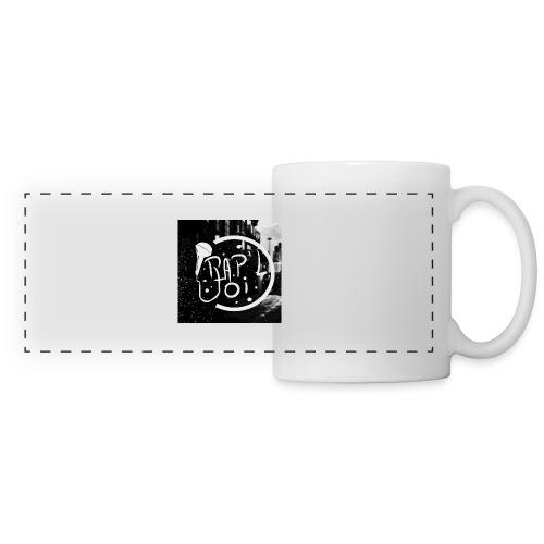 T-SHIRT LOGO CHAINE - Mug panoramique contrasté et blanc