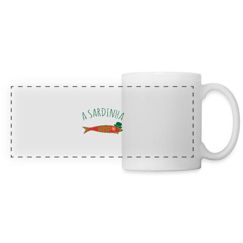 A Sardinha - Bandeira - Mug panoramique contrasté et blanc