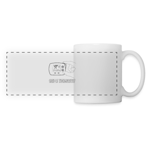 PCLP2 - Mug panoramique contrasté et blanc