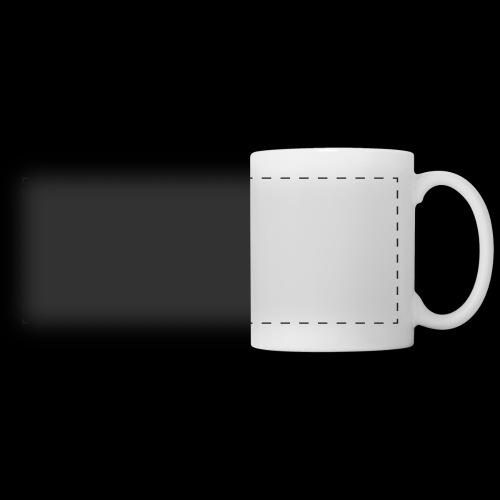 Dark-Code Gothic Logo - Mug panoramique contrasté et blanc
