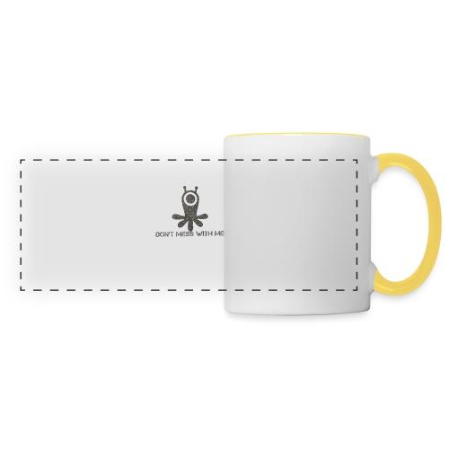 Dont mess whith me logo - Panoramic Mug