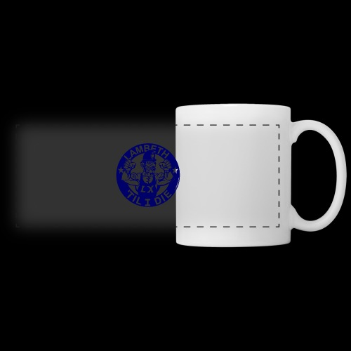 LAMBETH - NAVY BLUE - Panoramic Mug