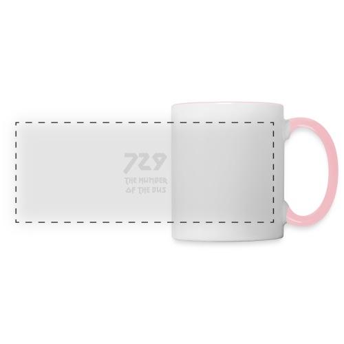 729 grande grigio - Tazza con vista