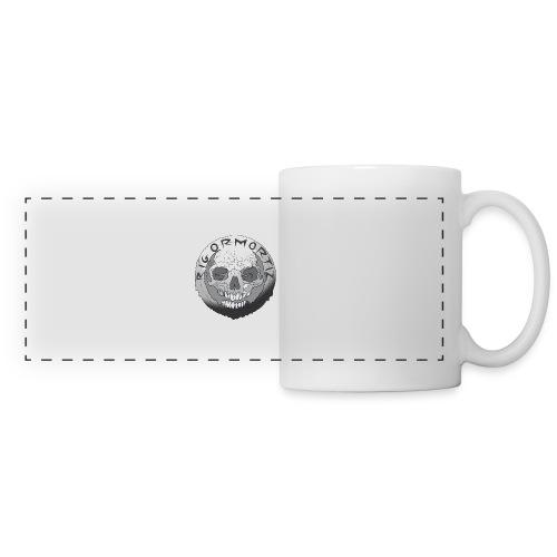 Rigormortiz Black and White Design - Panoramic Mug