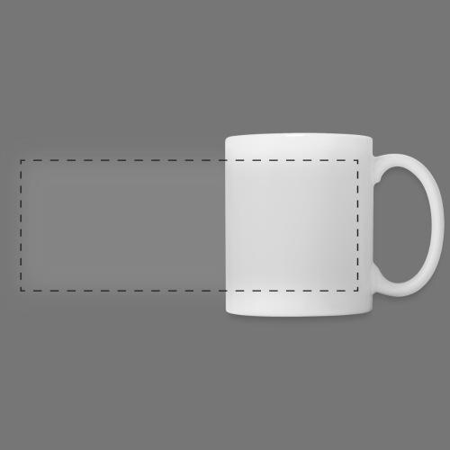 logoPAC-Blanc - Mug panoramique contrasté et blanc