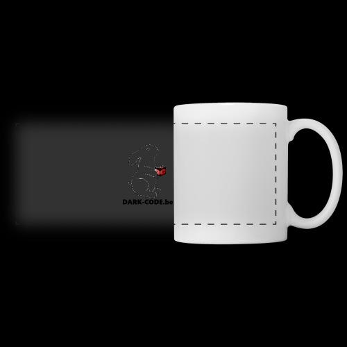 whiterabbit - Mug panoramique contrasté et blanc