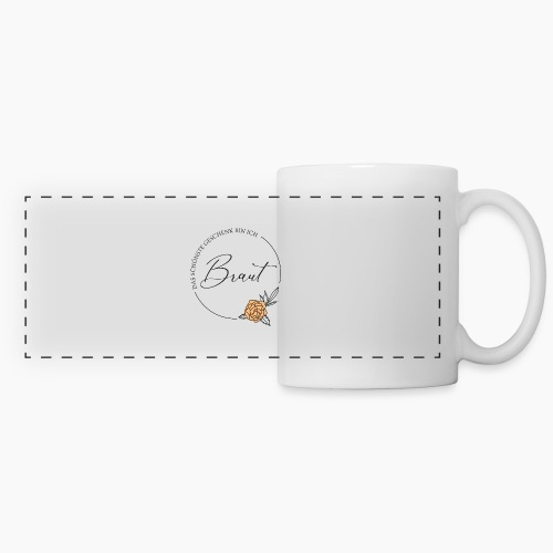 Braut - Das schönste Geschenk - Panoramic Mug
