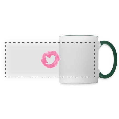 pink twitt - Panoramic Mug