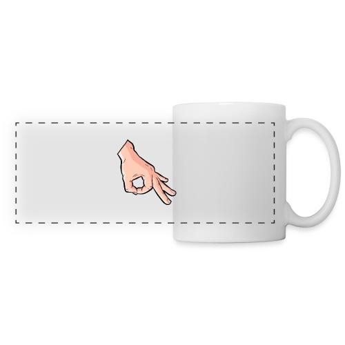The Circle Game Ok Emoji Meme - Panoramic Mug