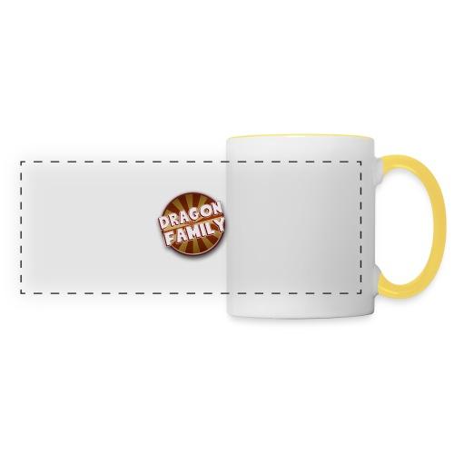 logo DF - Mug panoramique contrasté et blanc