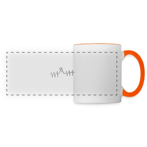 mountain heartbeat - Tazza con vista