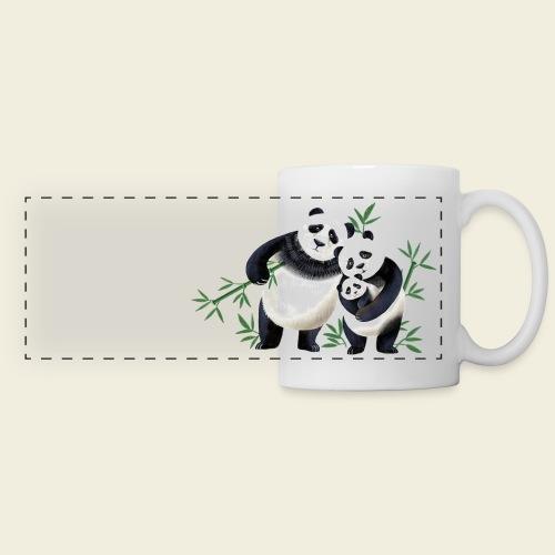 Pandafamilie Baby - Panoramatasse