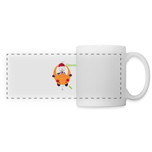 AUTOSIMONE - Mug panoramique contrasté et blanc