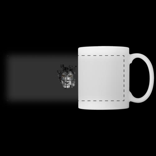 Pixel Lion Tattoo Inspire - Panoramic Mug