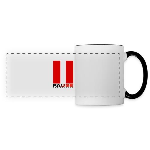 PAUSE THE FAILURE - Mug panoramique contrasté et blanc