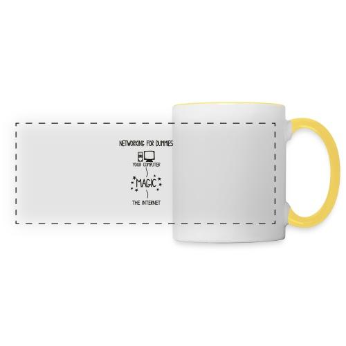 Network Schematic for Dummies - Panoramic Mug
