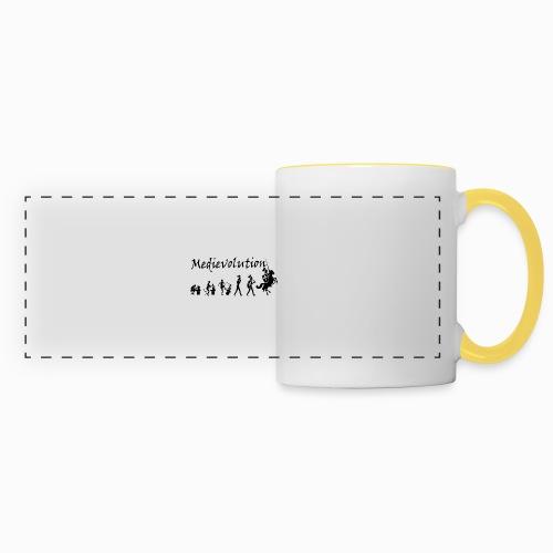 Medievolution - Mug panoramique contrasté et blanc