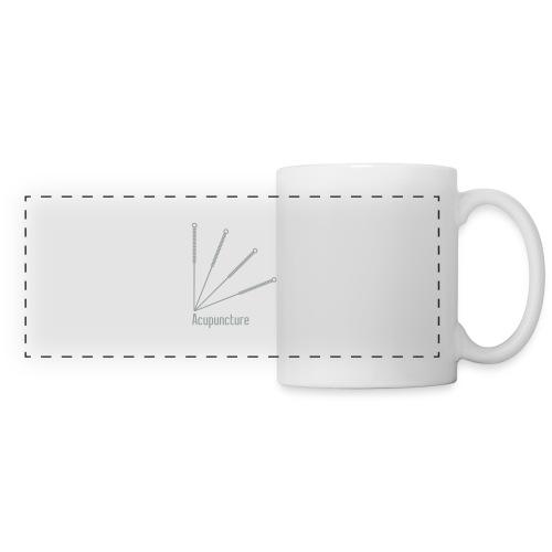 Acupuncture Eventail vect - Mug panoramique contrasté et blanc