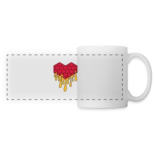 Honey heart cuore miele radeo - Tazza panoramica