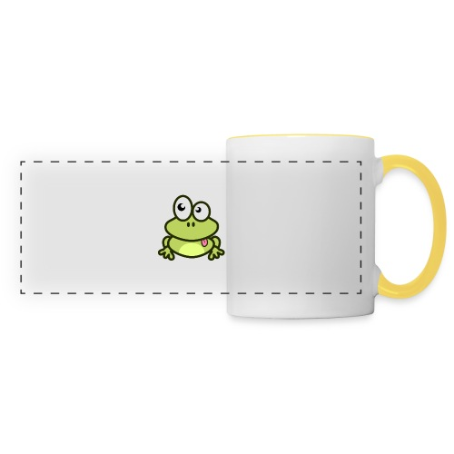 Frog Tshirt - Panoramic Mug