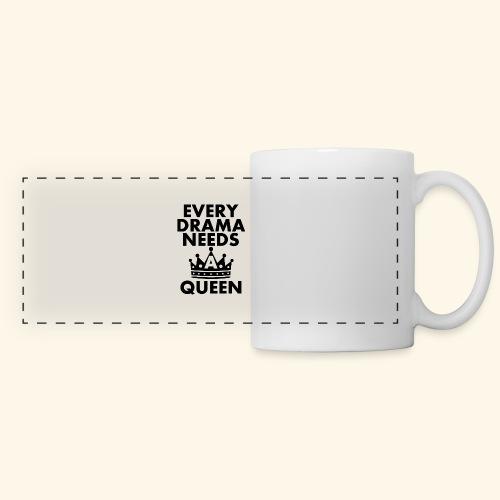 EVERY DRAMA black png - Panoramic Mug
