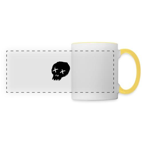 blackskulllogo png - Panoramic Mug