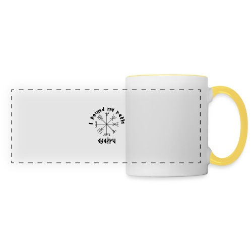 I found my path - Asatru - Panoramic Mug
