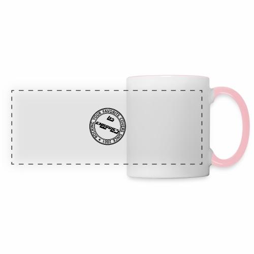 Badge - Mug panoramique contrasté et blanc