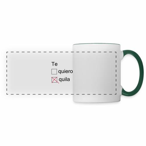 tequila - Mug panoramique contrasté et blanc