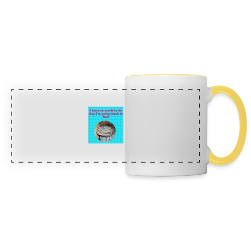 The sleeping dragon - Panoramic Mug