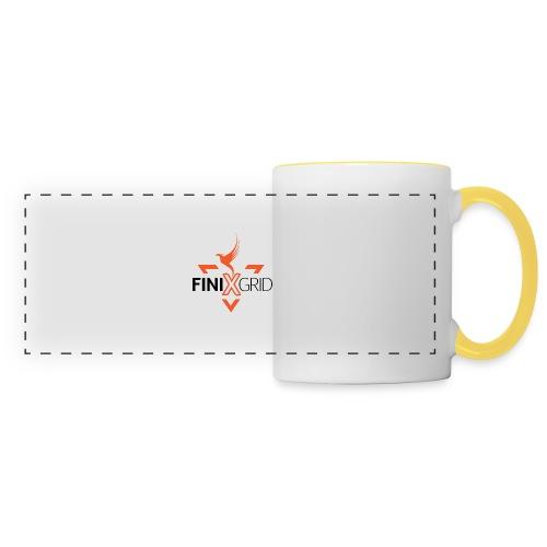 FinixGrid Orange - Panoramic Mug