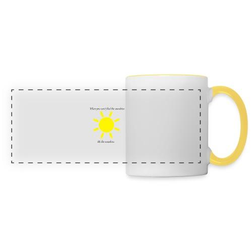 Be the sunshine - Panoramic Mug