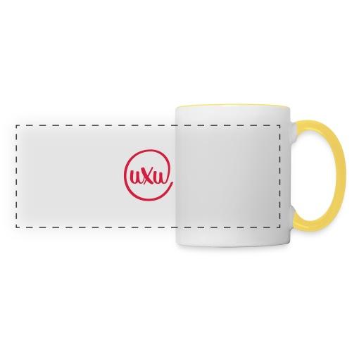UXU logo round - Panoramic Mug
