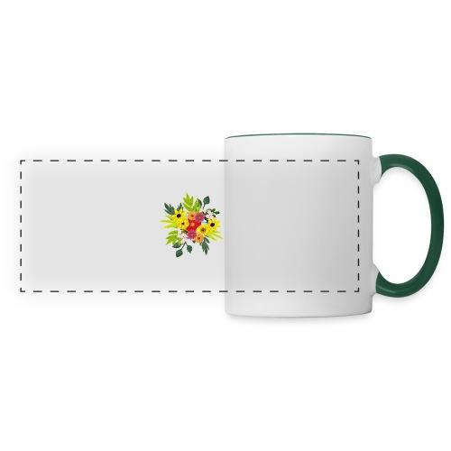 Flower_arragenment - Panoramic Mug