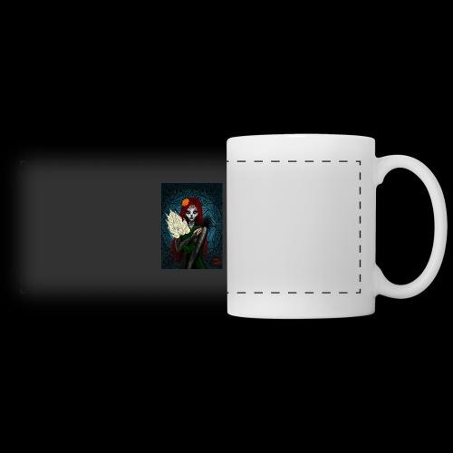 Death and lillies - Panoramic Mug