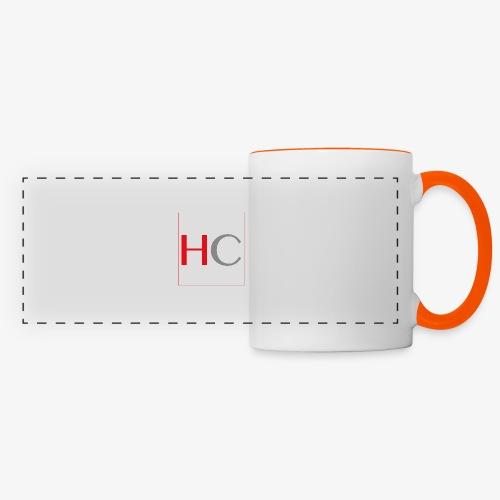 hc png - Mug panoramique contrasté et blanc