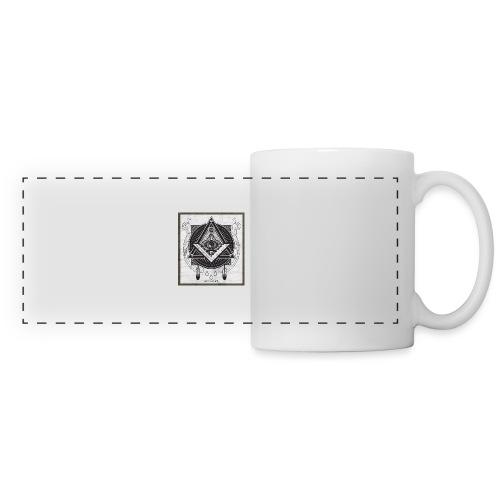 Illuminati - Mug panoramique contrasté et blanc