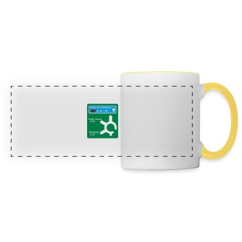 HOME_FOR_CHRISTMAS_SIGN - Panoramic Mug